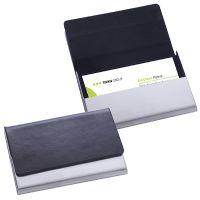 ויזיט – קופסת כרטיסי ביקור דמוי עור או מתכת