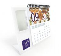 לוח שנה + מראה מלבנית