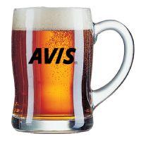 """סרפן – כוס בירה גל עם ידית450 מ""""ל"""