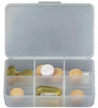 דוק- קופסת אחסנה לכדורים שישה תאים