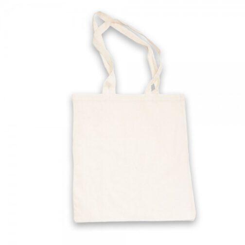מונה - תיק כותנה לבן
