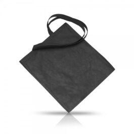 """מונה – תיק כותנה שחור 42/38 ס""""מ"""